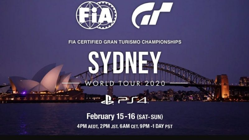 Gran Turismo едет в Сидней