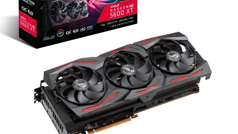 ASUS представляет новые видеокарты серий ROG Strix, TUF Gaming X3 и Dual на базе Radeon RX 5600 XT