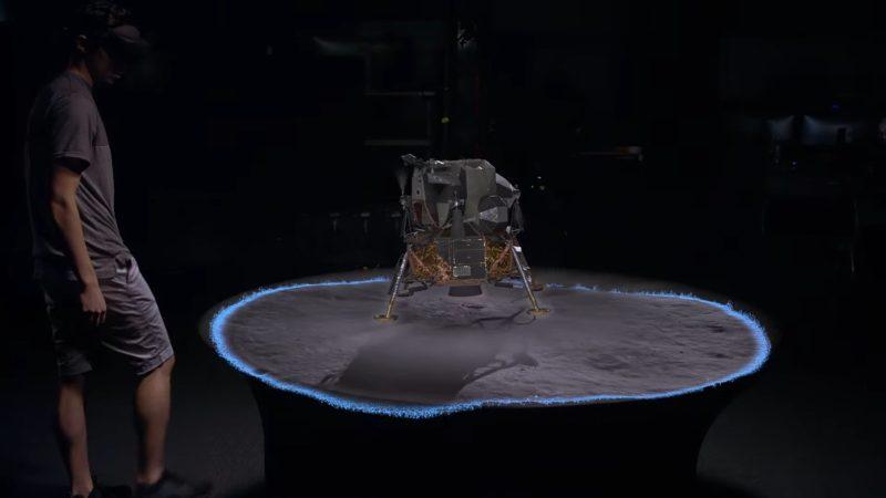 Теперь вы можете своими глазами увидеть высадку на Луну.