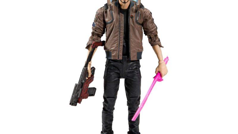 McFarlane Toys представила фигурки из Cyberpunk 2077