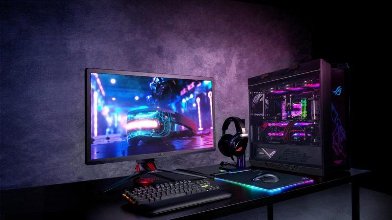 ASUS представляет первые геймерские мониторы с поддержкой стандарта DSC.