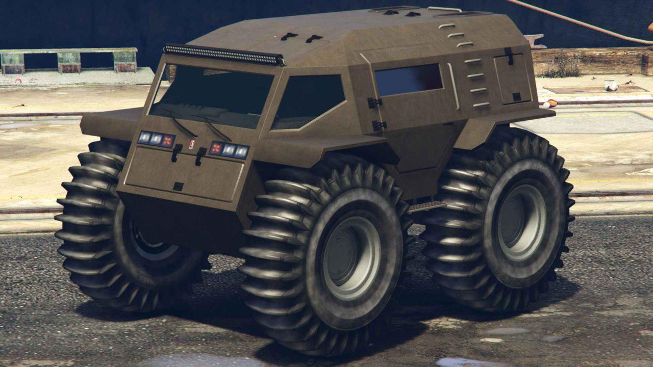 В GTA Online появился новый автомобиль