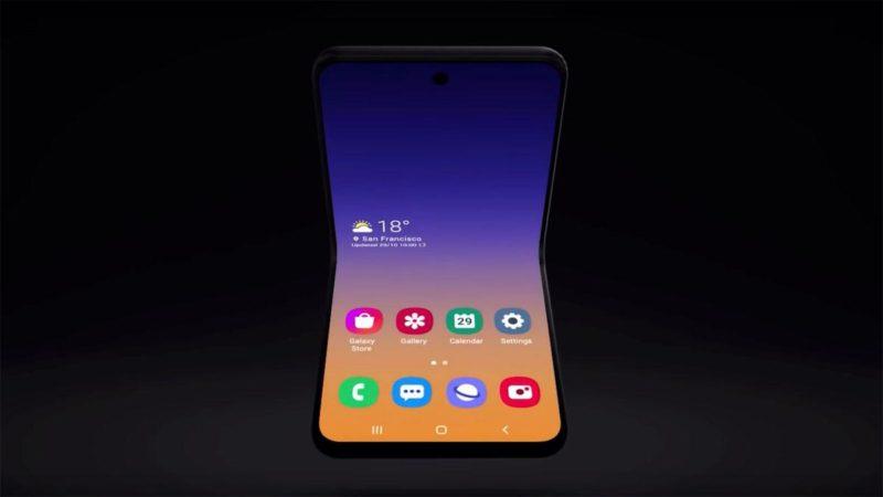 Samsung Galaxy Bloom лицевая сторона