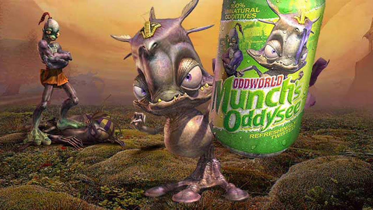 Oddworld: Munch's Oddysee выйдет на Nintendo Switch