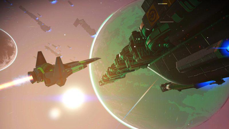 Теперь флот будет действительно полезным в No Man`s Sky