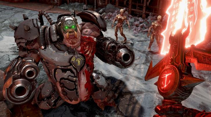 Новый геймплей Doom Eternal