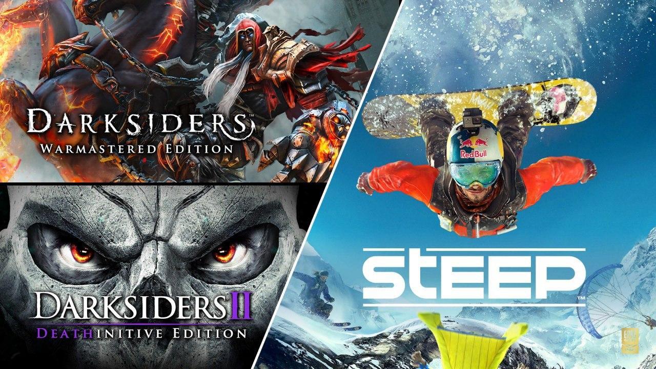 Новая раздача в Epic Games Store