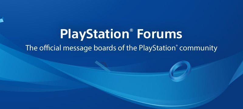 Sony закрывает форумы по PlayStation