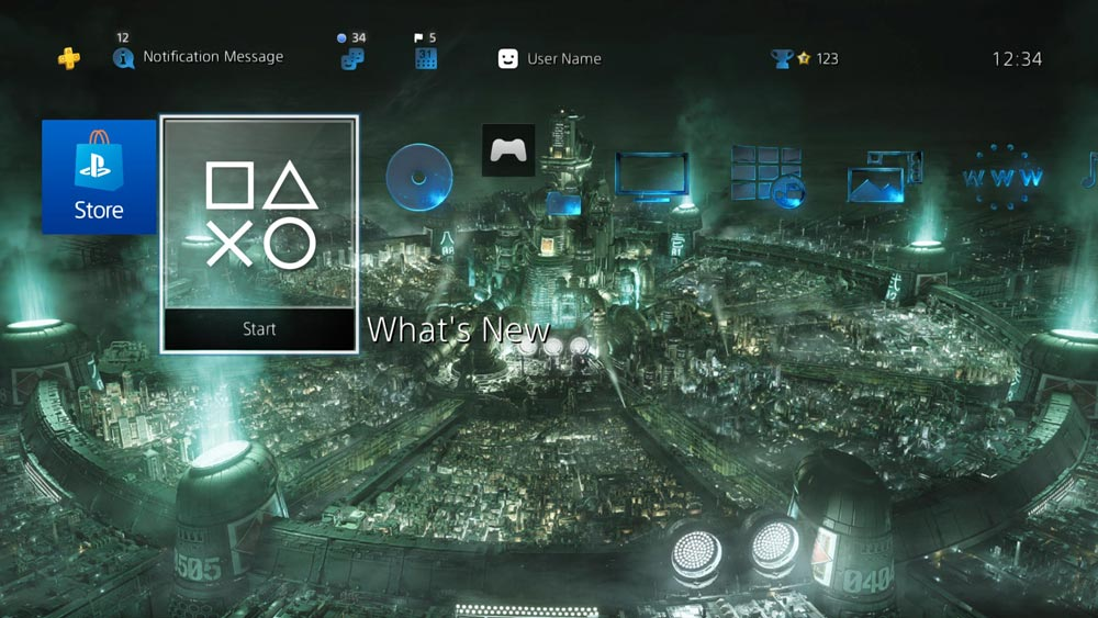 В Японии стала доступна динамическая тема Final Fantasy VII Remake