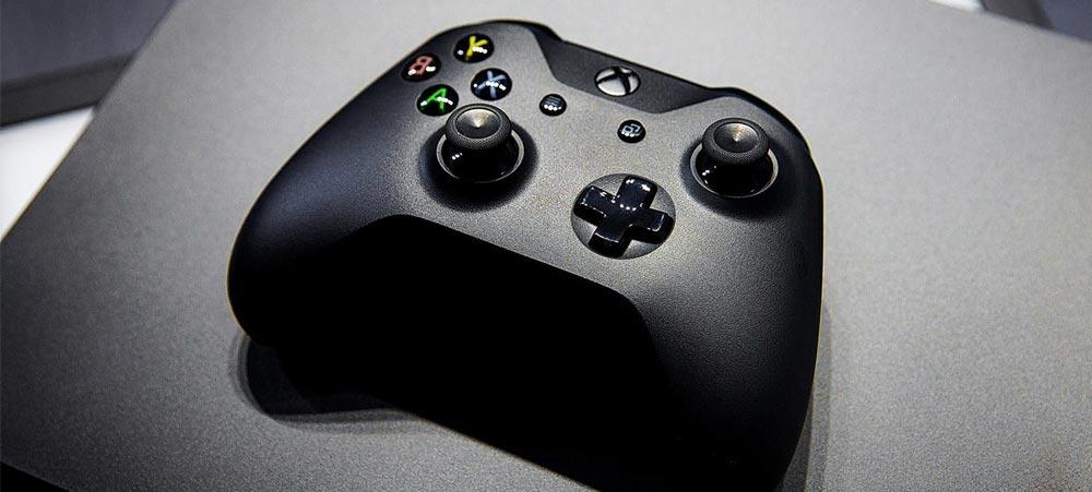 Сегодня Microsoft представит лимитированную серию Xbox One X