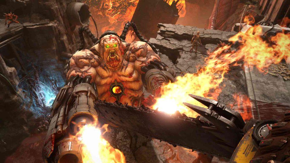 Bethesda продемонстрировала мультиплеер Doom Eternal