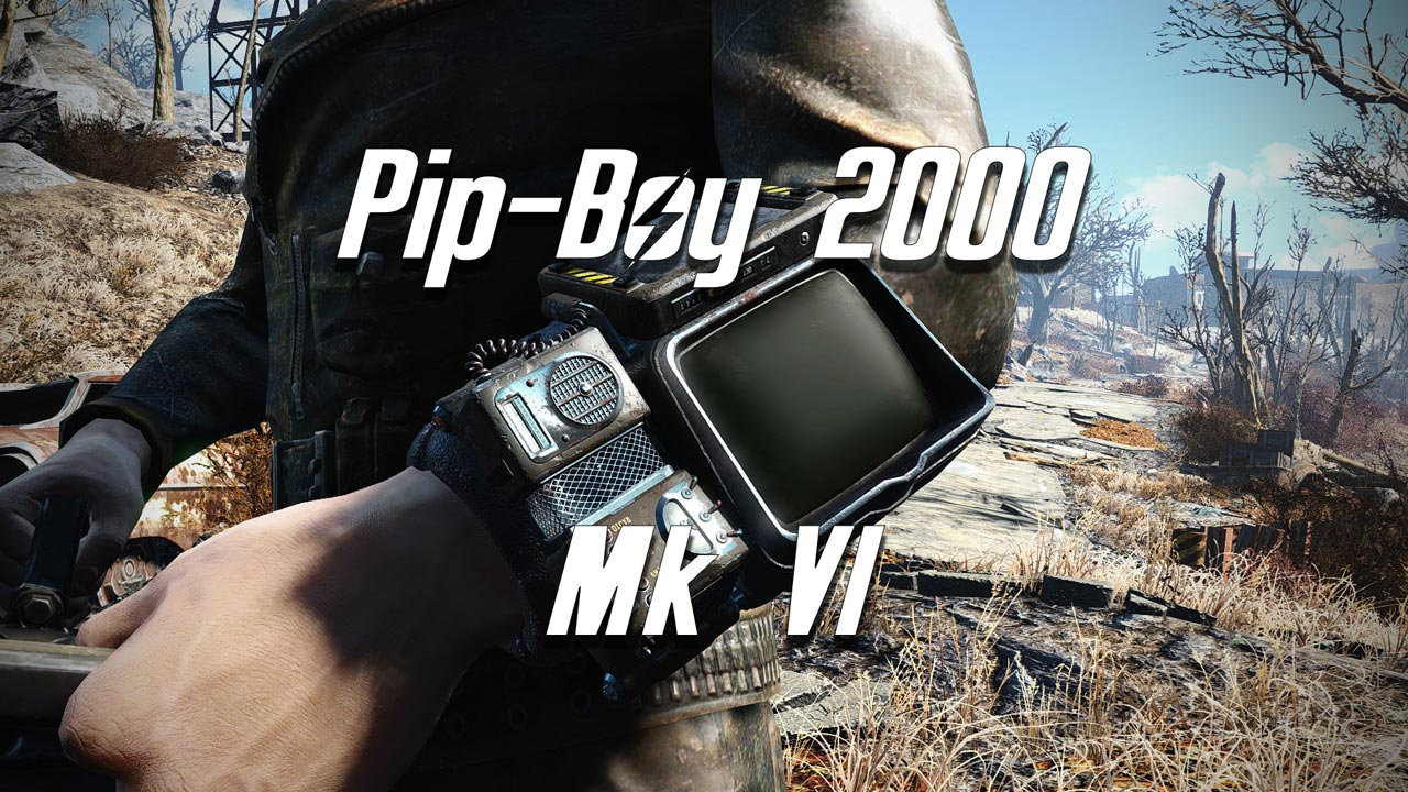 Pip-Boy 2000 Mk VI в Fallout 4.