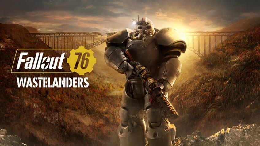 Появился геймплей Fallout 76: Wastelanders