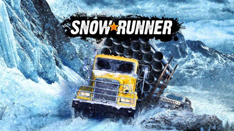 SnowRunner прогревает замёрзший мотор