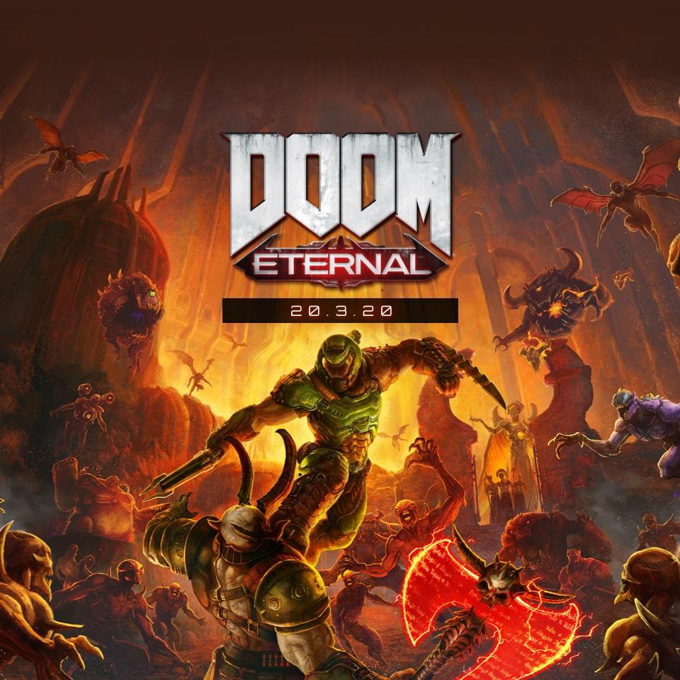Краткий экскурс по крепости Рока в Doom Eternal