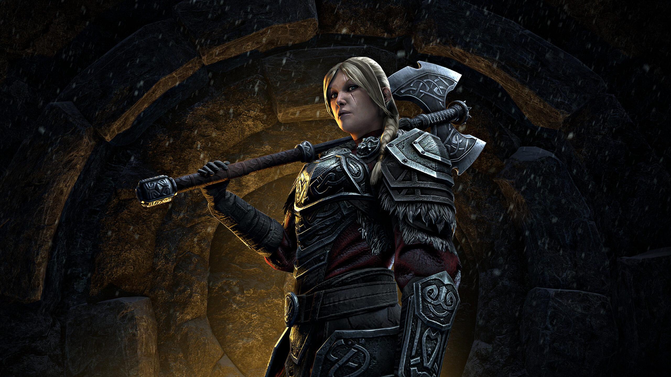 Bethesda представили новые кадры грядущего дополнения для The Elder Scrolls Online