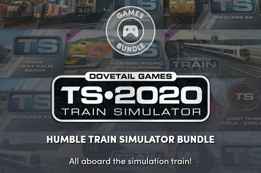 В Humble Bundle продают набор Train Simulator 2020.