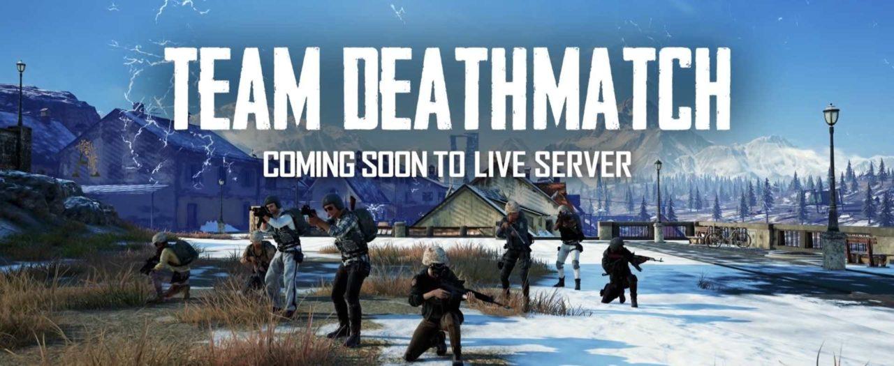 В PUBG появился командный Deathmatch
