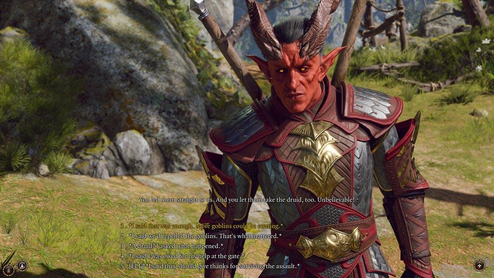В сети появились скриншоты из Baldur's Gate 3