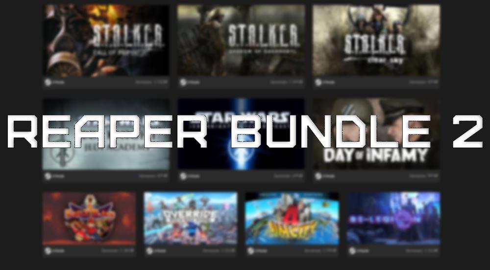 Заберите 10 игр комплекта Reaper Bundle 2 за 399 рублей