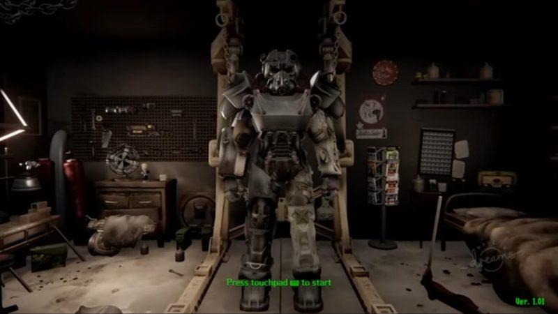 Fallout 4 воссоздали в Dreams