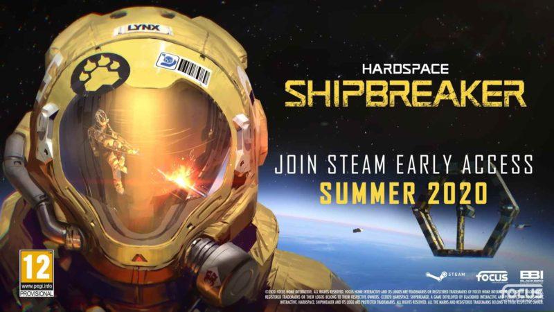 Спасите космический корабль в Hardspace: Shipbreaker