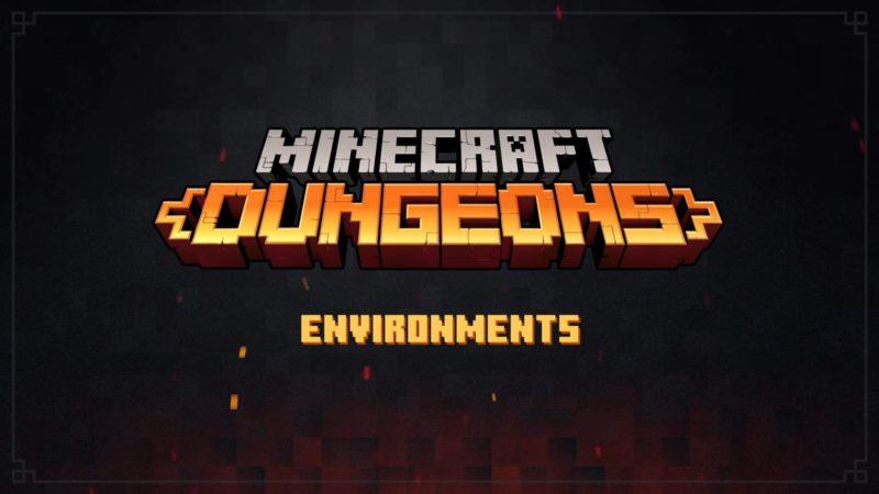 Разработчики Minecraft: Dungeons рассказали об окружении игры