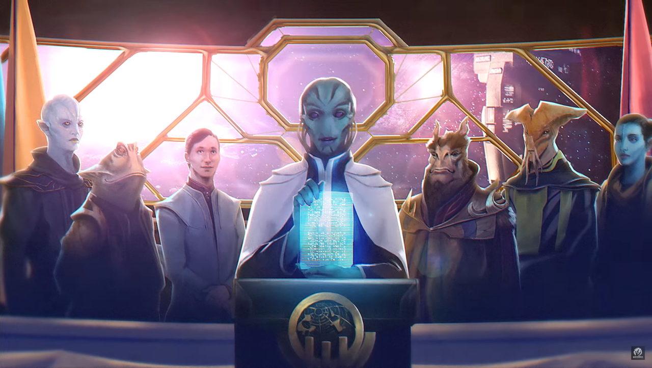 Известна дата выхода дополнения Federation к Stellaris