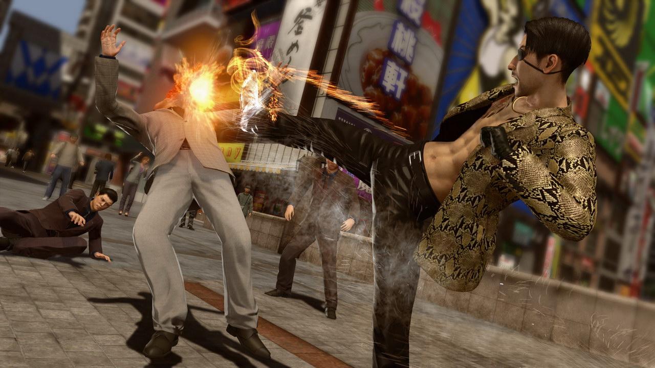 Сборник игр Yakuza на PlayStation 4 пополнился новыми частями серии