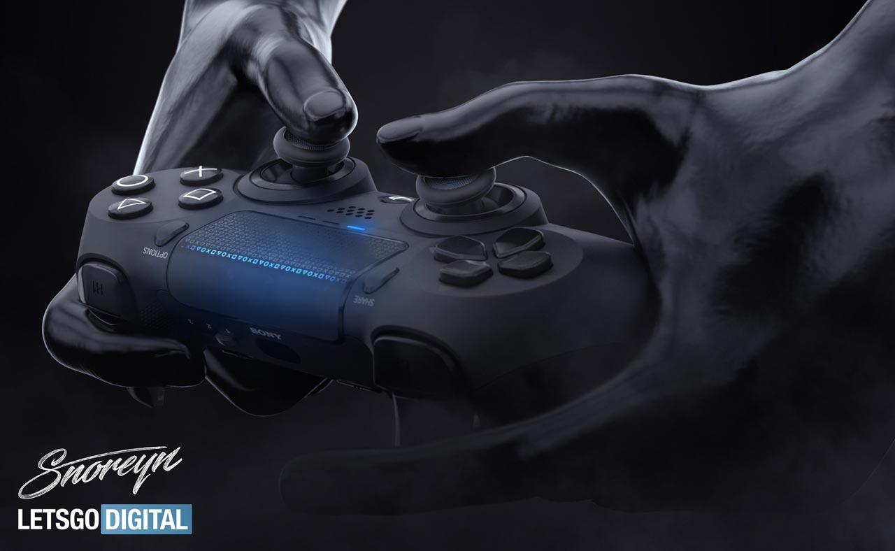 СМИ создали рендер Dualshock 5 на основе всей информации о нём.