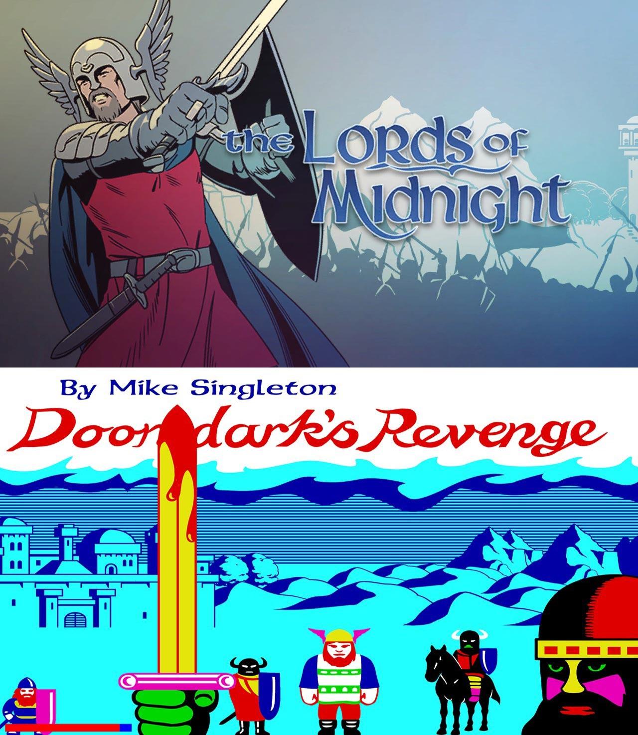 В GOG раздают бесплатно The Lords of Midnight и Doomdark's Revenge