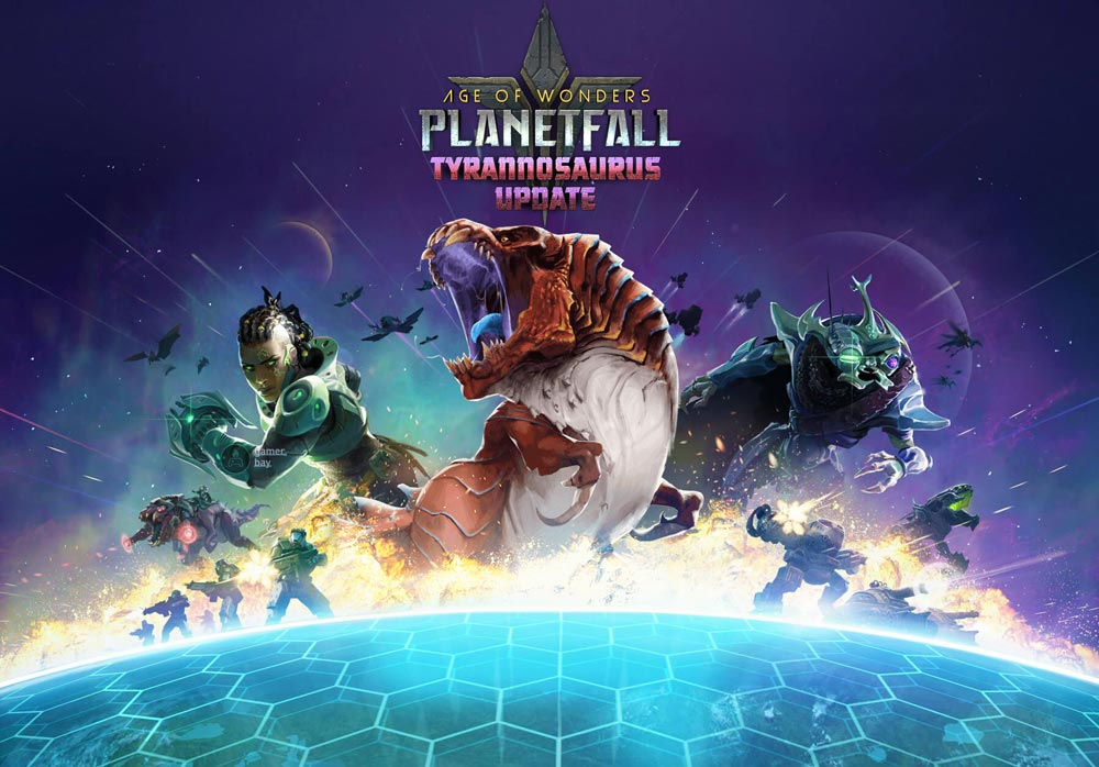 Tyrannosaurus добавит тонны контента в Age of Wonders: Planetfall