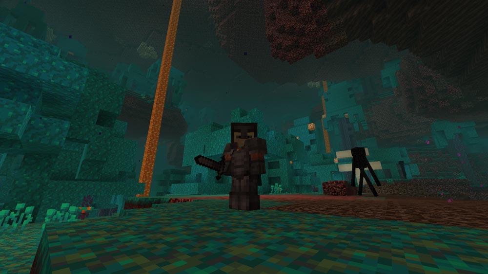 Обновление 1.16 добралось до Minecraft Java-Edition