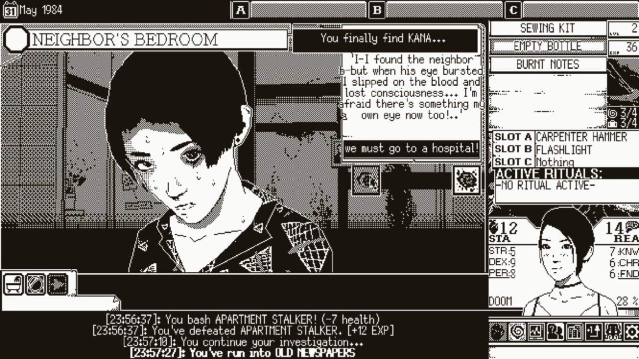 World of Horror вышла в раннем доступе в Steam