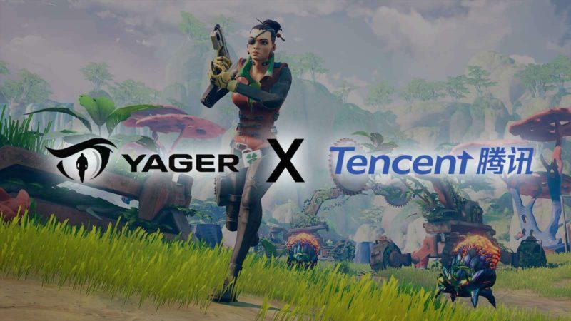 Tencent приобрела акции Yager