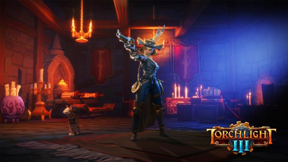 В Torchlight 3 появился новый класс