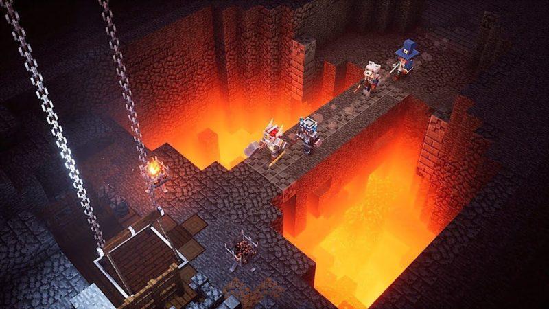 Стала известная дата выхода Minecraft Dungeons