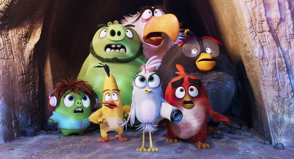 angry birds film scene