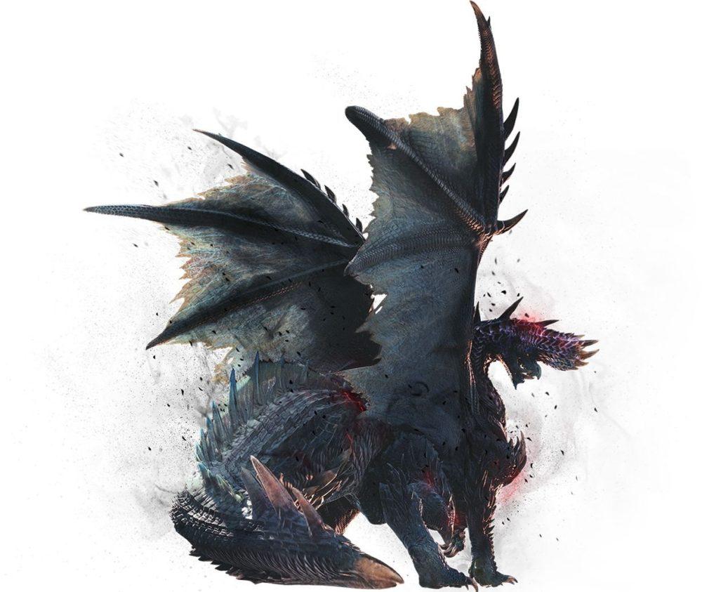 Пришествие Алатреона в дополнение Ice borne к Monster Hunter