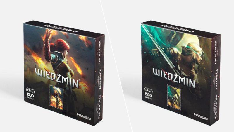 CD Projekt Red добавила в свой магазин пазлы по Ведьмаку