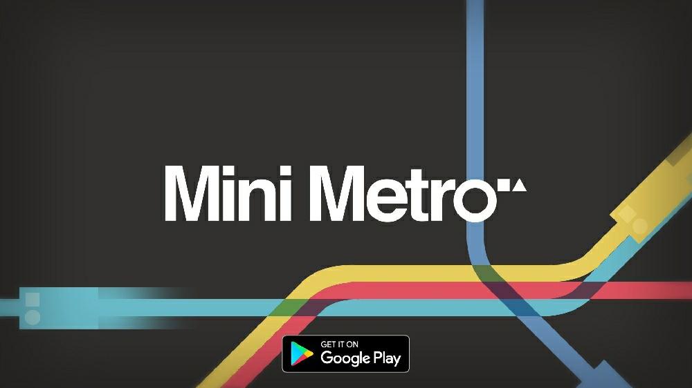 Mini Metro бесплатна в Google Play и App Store