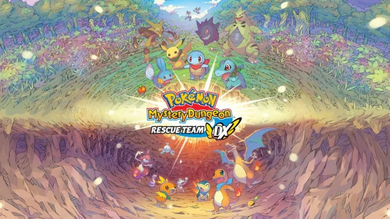 Pokémon Mystery Dungeon Rescue Team Dx теперь доступна на Nintendo Switch