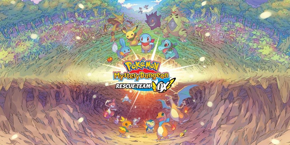Pokémon Mystery Dungeon Rescue Team Dx теперь доступна на Nintendo Switch