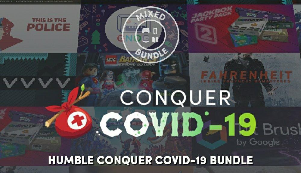 В Humble Bundle началась новая распродажа посвящённая коронавирусу