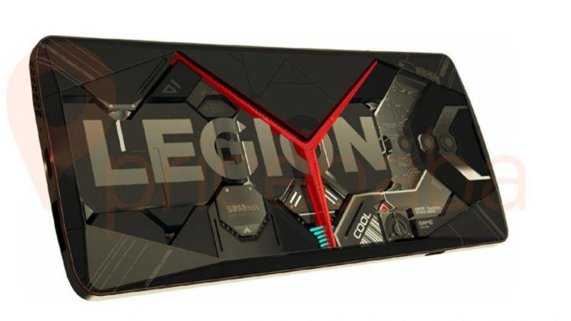 Lenovo Legion засветился на рендерах