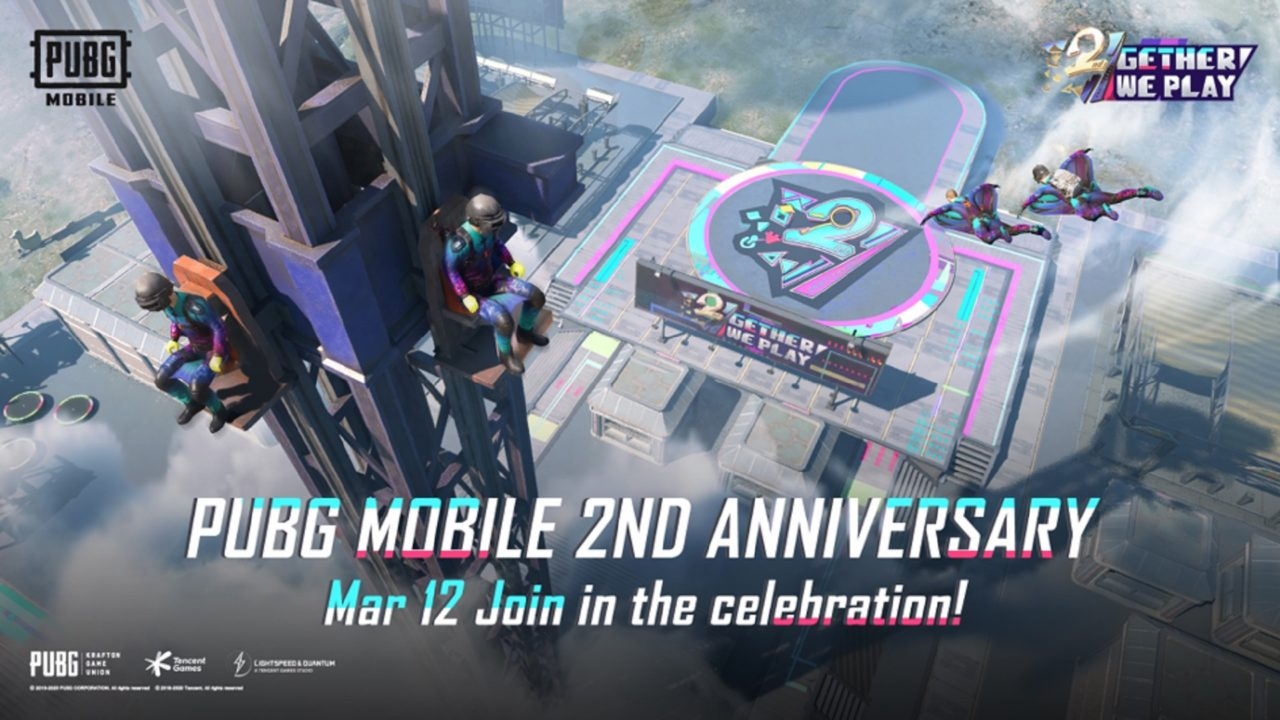 PUBG Mobile празднует день своего релиза