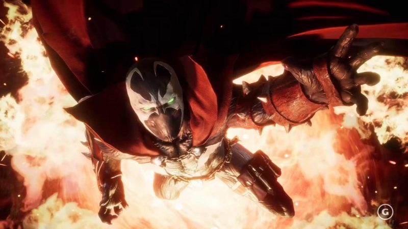 В Mortal Kombat 11 приходит Спаун