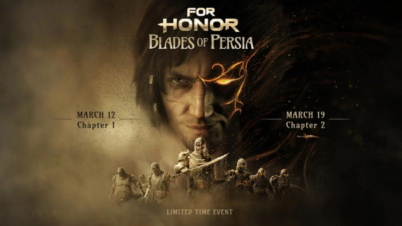 В For Honor начался кроссовер с Принцем Персии