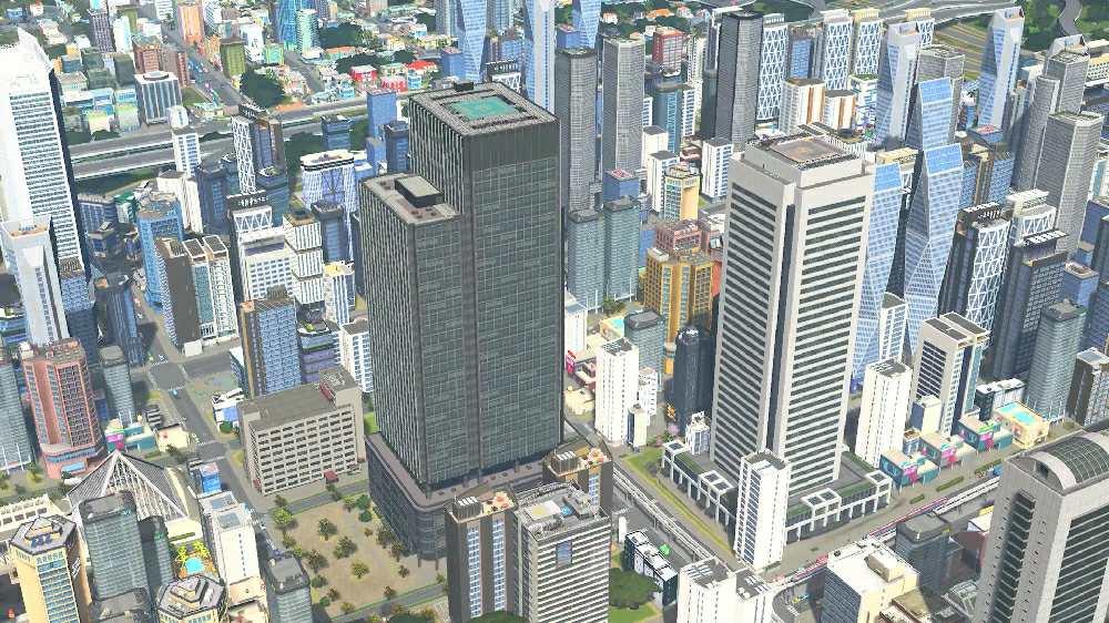 Cities: Skylines в японском стиле