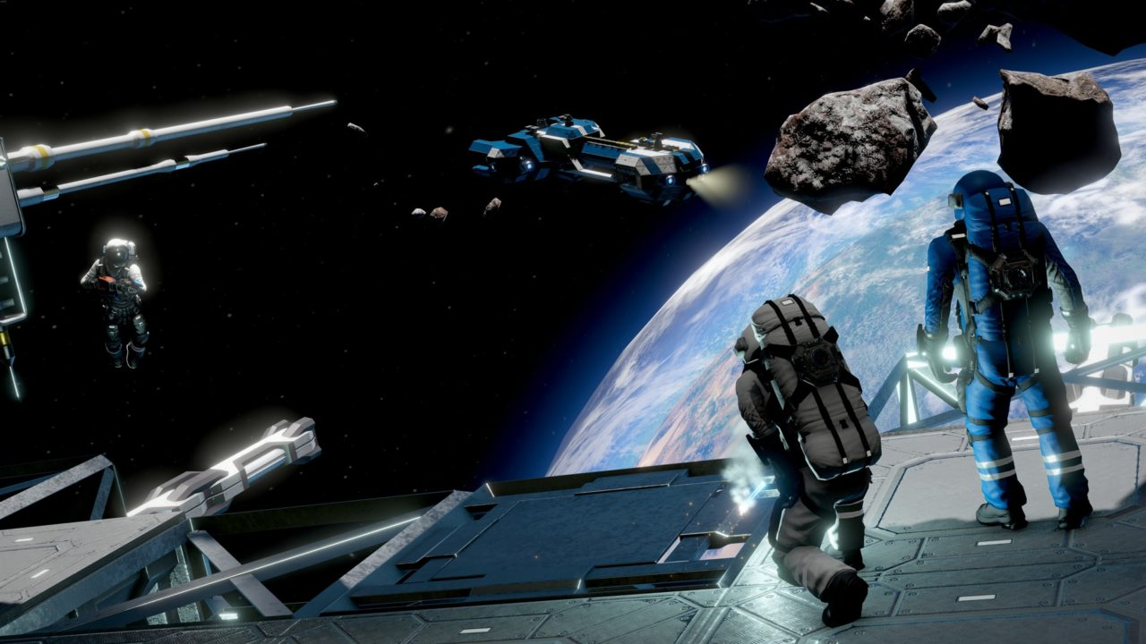 Space Engineers прилетают на Xbox One